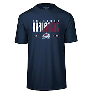 Levelwear Splitter Richmond Short Sleeve Tee Shirt - Colorado Avalanche - Adult