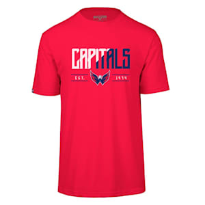 Levelwear Splitter Richmond Short Sleeve Tee Shirt - Washington Capitals - Adult