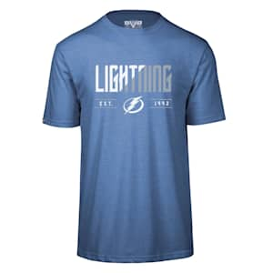 Levelwear Splitter Richmond Short Sleeve Tee Shirt - Tampa Bay Lightning - Adult