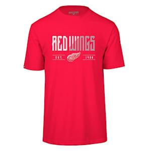 Levelwear Splitter Richmond Short Sleeve Tee Shirt - Detroit Red Wings - Adult