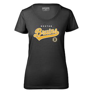 Levelwear Tail Sweep Daily Short Sleeve Tee Shirt - Boston Bruins - Womens
