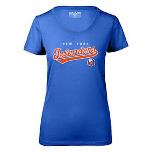 Levelwear Tail Sweep Daily Short Sleeve Tee Shirt - New York Islanders - Womens