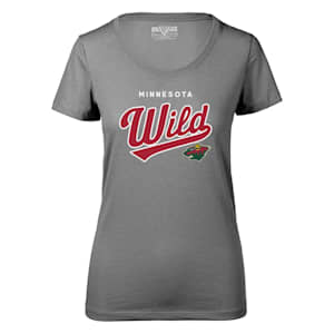 Levelwear Tail Sweep Daily Short Sleeve Tee Shirt - Minnesota Wild - Womens