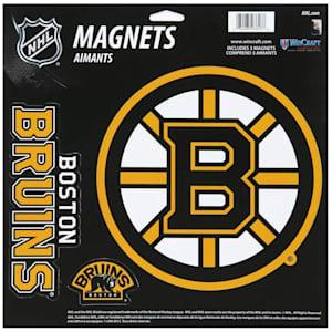 Wincraft 3 Pack Magnet - Boston Bruins