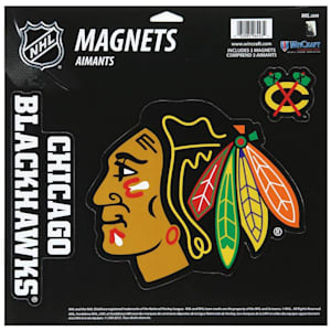 Wincraft 3 Pack Magnet - Chicago Blackhawks