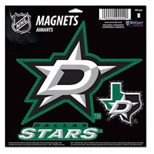 Wincraft 3 Pack Magnet - Dallas Stars