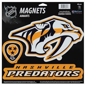 Wincraft 3 Pack Magnet - Nashville Predators