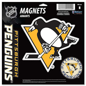 Wincraft 3 Pack Magnet - Pittsburgh Penguins