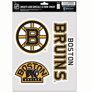 Wincraft Multi-Use Decal Pack - Boston Bruins