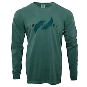 Pure Hockey Classic Comfort Long Sleeve Tee Shirt - Adult