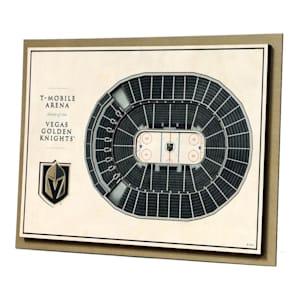 YouTheFan 5 Layer 3D Wall Art - Vegas Golden Knights