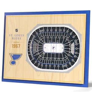 YouTheFan 5 Layer 3D Wall Art - St. Louis Blues