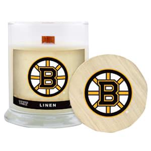 Boston Bruins 8oz Candle - Linen