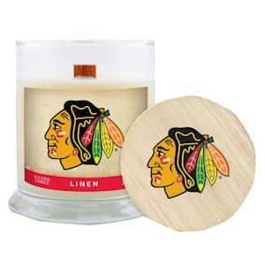 Chicago Blackhawks 8oz Candle - Linen