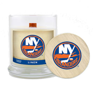 NY Islanders 8oz Candle - Linen