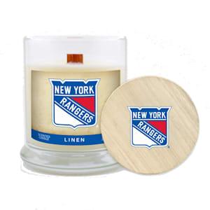 NY Rangers 8oz Candle - Linen