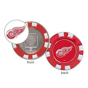 Wincraft Poker Chip Ball Marker - Detroit Red Wings