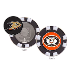 Wincraft Poker Chip Ball Marker - Anaheim Ducks