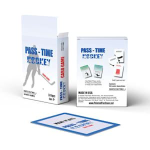 Painted Pastimes Pass-Time Hockey Card Game