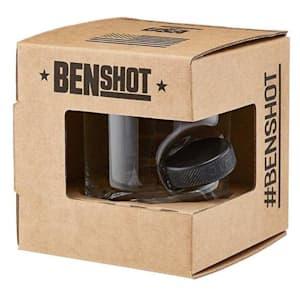 BenShot Hockey Puck Wine Glass