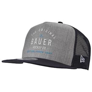 Bauer New Era 9Fifty Original Script Snapback Adjustable Hat - Adult