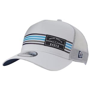 Bauer New Era 9Forty Stripe Patch Snapback Adjustable Hat - Adult