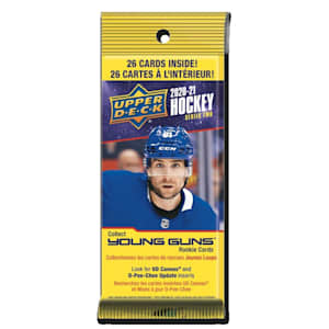 UpperDeck 2020-2021 NHL Series Two Trading Cards Fat Pack