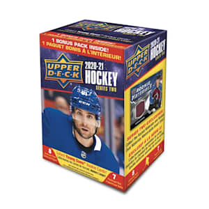 UpperDeck 2020-2021 NHL Series Two Trading Cards Blaster Box