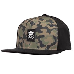 CCM Camo Flat Brim Snapback Hat - Adult