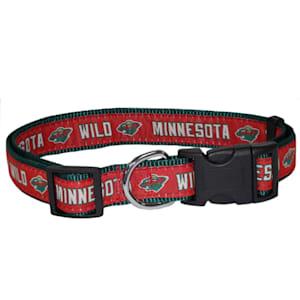NHL Pet Collar - Minnesota Wild