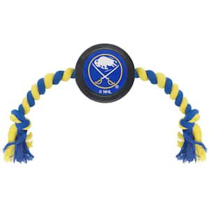 Hockey Puck Pet Toy - Buffalo Sabres