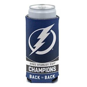 Wincraft 2021 Stanley Cup Champions Slim Can Cooler - Tampa Bay Lightning