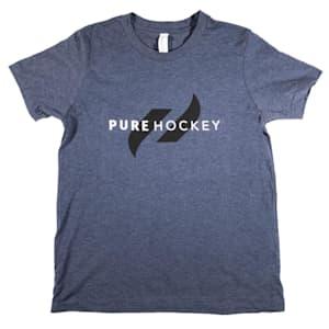 Pure Hockey Classic Tee 2.0 - Navy - Youth