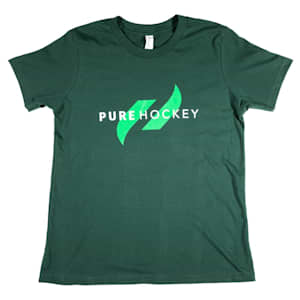 Pure Hockey Classic Tee 2.0 - Forest Green - Youth