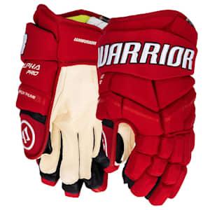 Warrior Alpha Pro Hockey Gloves - Custom Design