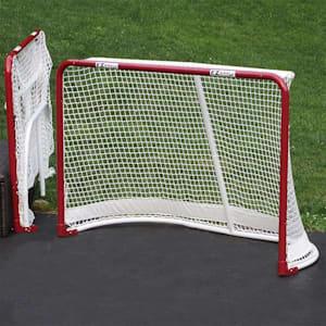 EZ Goal 6x4 Folding Metal Hockey Goal