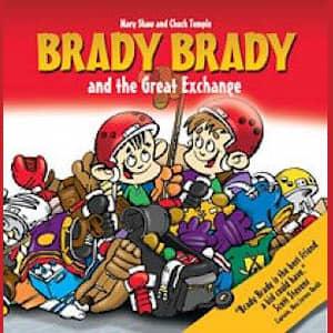 Brady Brady and The Great Exchange Children's Book