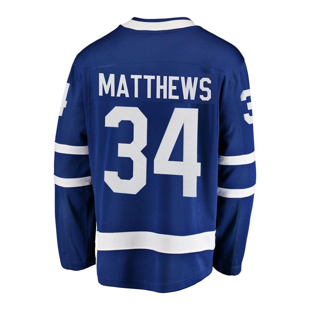 Fanatics Toronto Maple Leafs Replica Home Jersey - Auston Matthews - Adult