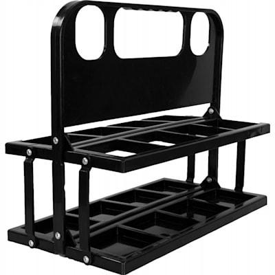 Black (InGlasco Foldable Water Bottle Carrier)