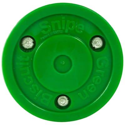 (Green Biscuit Snipe Shooting Puck)