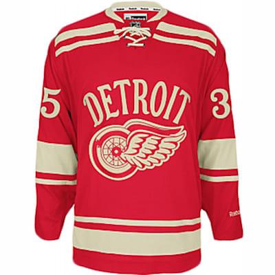 Reebok 2014 Winter Classic Detroit Red Wings Jimmy Howard Premier ...