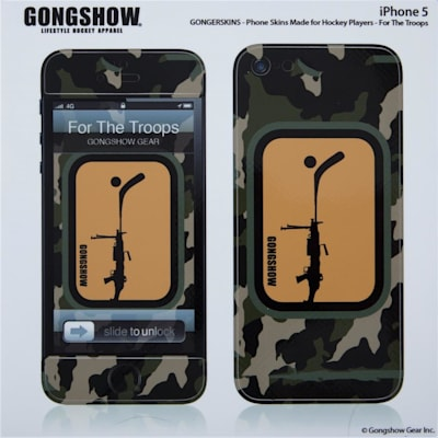 (Gongshow For The Troops iPhone 5 Skin)