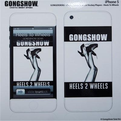 (Gongshow Heels 2 Wheels iPhone Skin)
