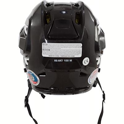 Back (Bauer RE-AKT 100 Hockey Helmet Combo)