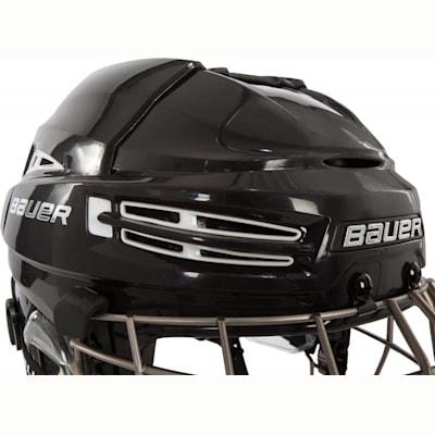 Front Perspective (Bauer RE-AKT 100 Hockey Helmet Combo)