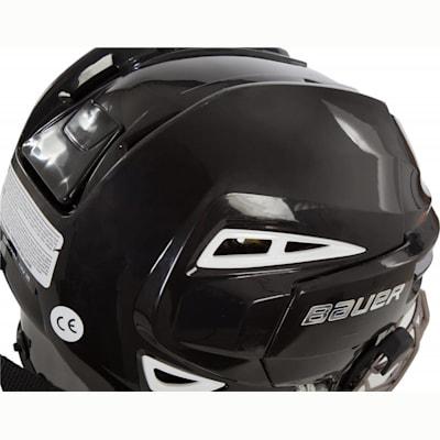 Back Perspective (Bauer RE-AKT 100 Hockey Helmet Combo)