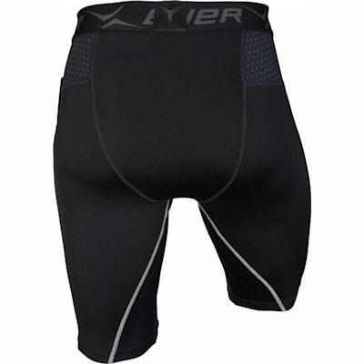 Back (Bauer Premium Compression Shorts - Adult)
