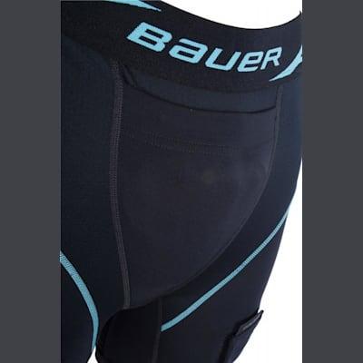 Closeup Of Front (Bauer NG Compression Jill Hockey Shorts - Womens)