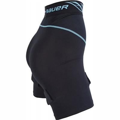 Side View (Bauer NG Compression Jill Hockey Shorts - Womens)