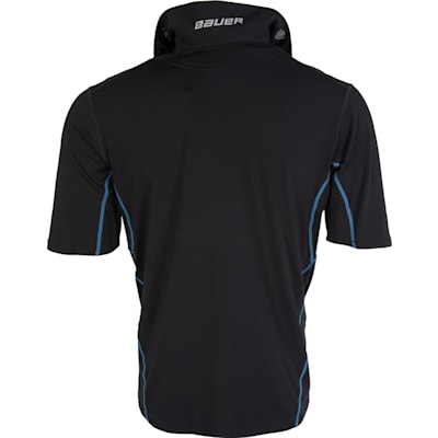 Back With Collar Up (Bauer NG Core Neck Protect Shirt - Youth)